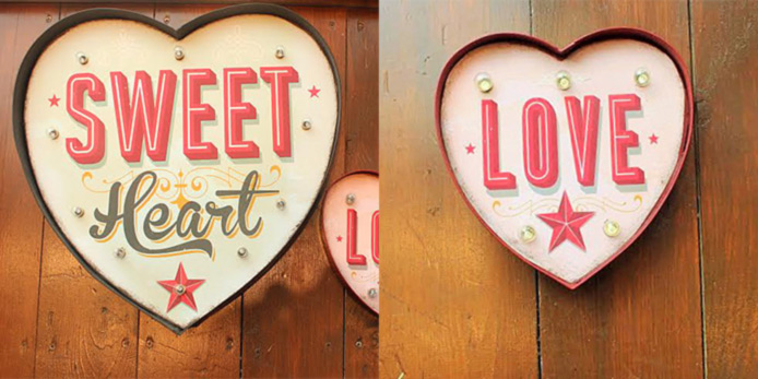 Light Up Signs by Temerity Jones