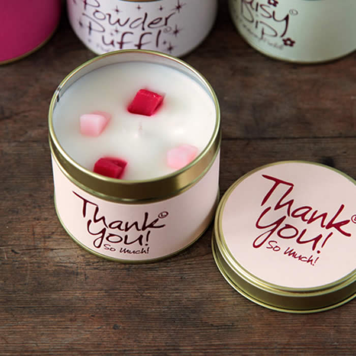 Thank You Candle by Lily Flame buy online UK