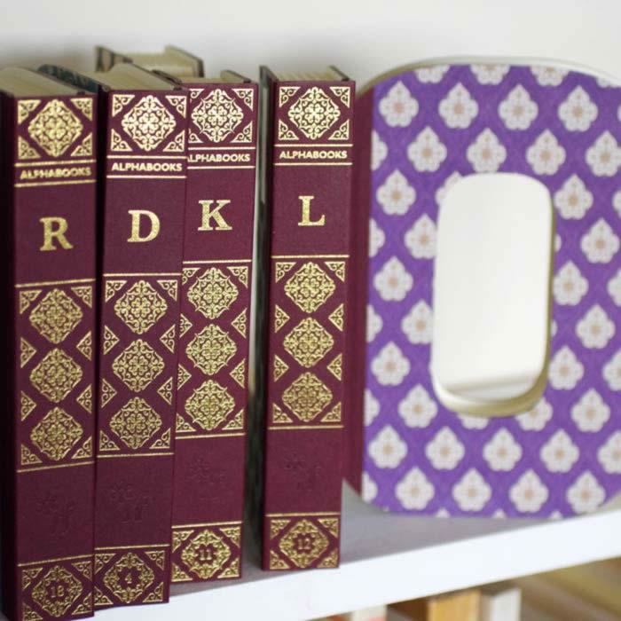 Alphabet Letter Notebooks by alphabooks notebooks buy online UK