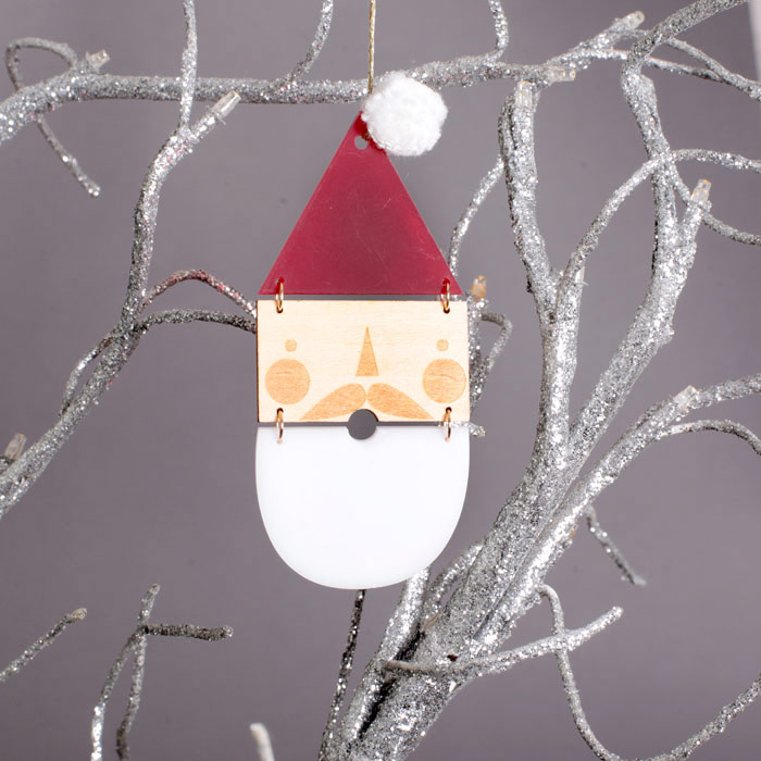 Santa Claus Tree Decorations - Free p&p for all online orders