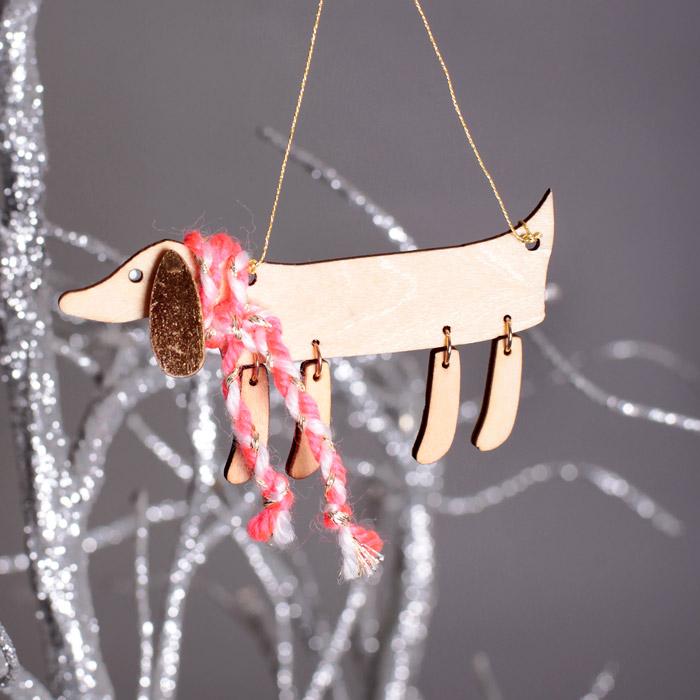 Sausage Dog Tree Decorations - Buy Online, UK