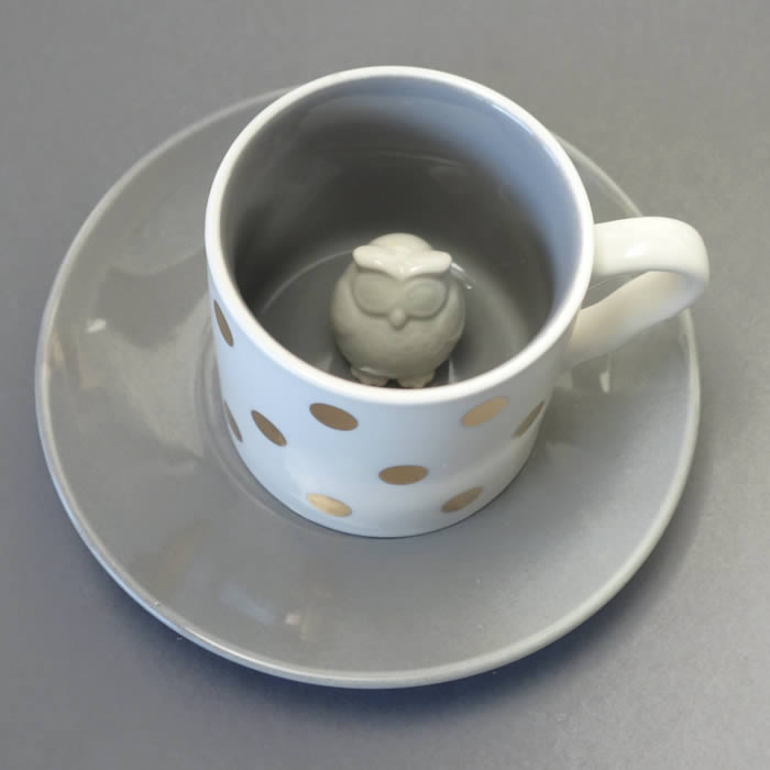Owl cup and saucer buy online £12.50 with free delivery