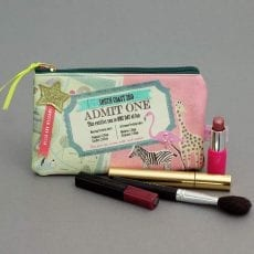 memento zoo makeup bag with free P&P