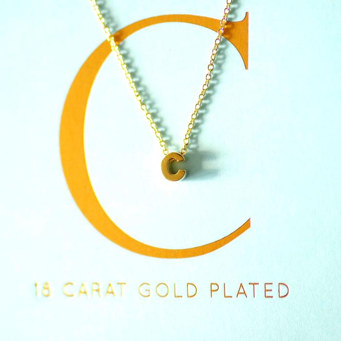 Monogram Necklace - Buy Online UK