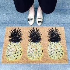 Three Pineapple Doormat -Bombay Duck £22.50 Buy Online Free P&P
