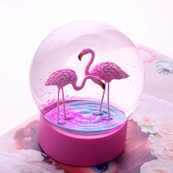 Flamingo Snow Globe By Talking Tables Buy Online Now