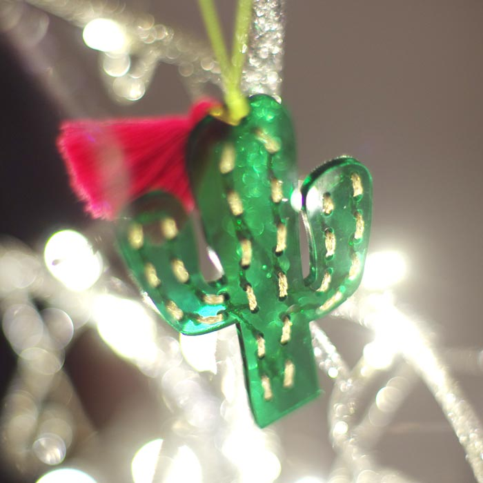 quirky christmas decorations meri meri cactus