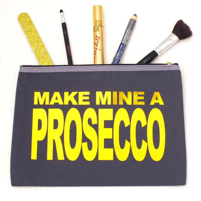 Prosecco Slogan Gifts - Prosecco Wash Bag