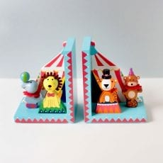Childrens Bookends - Animal Bookends by Orange Tree Toys