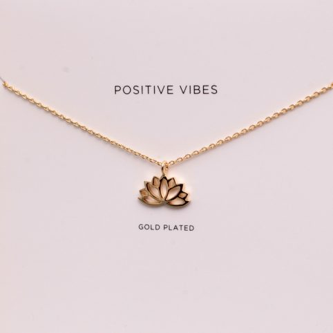 Estella Bartlett Lotus Necklace - £15 Free UK Delivery