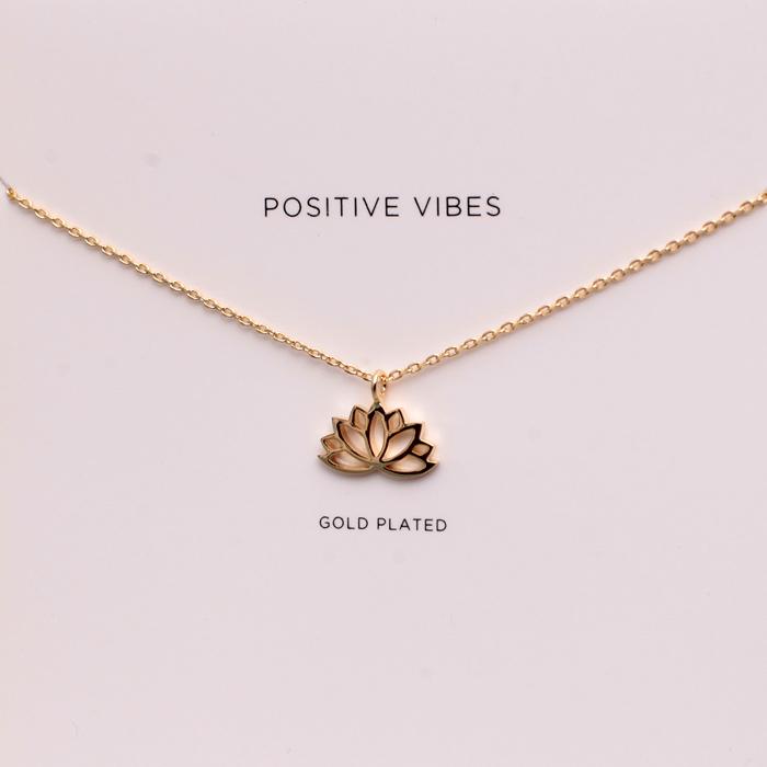 Estella bartlett lotus necklace free uk delivery estella bartlett lotus necklace mozeypictures Choice Image