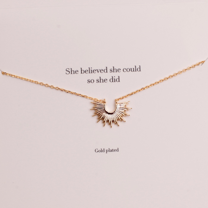 Estella Bartlett Gold Plated Necklace
