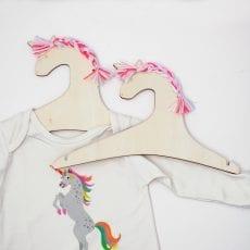 Kids Wooden Hangers - Unicorn from Meri Meri