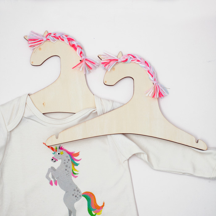 Kids Wooden Hangers - Unicorn from Meri Meri