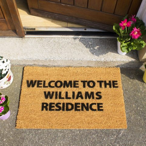 Personalised Door Mat - Free P&P