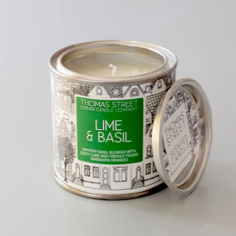 Lime and Basil Candle - £10.50 Free UK Delivery