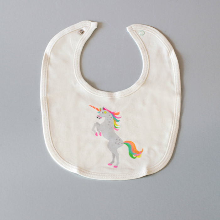 Petra Boase Bib Unicorn Design