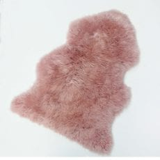 Pink Sheepskin Rug - Buy Online UK