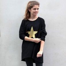 Gold Metallic Star Jumper - £32.50 Free UK Shipping