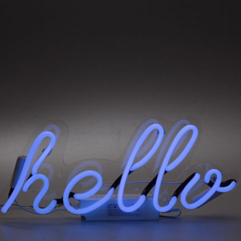 Hello Neon Light - Locomocean Free UK Delivery