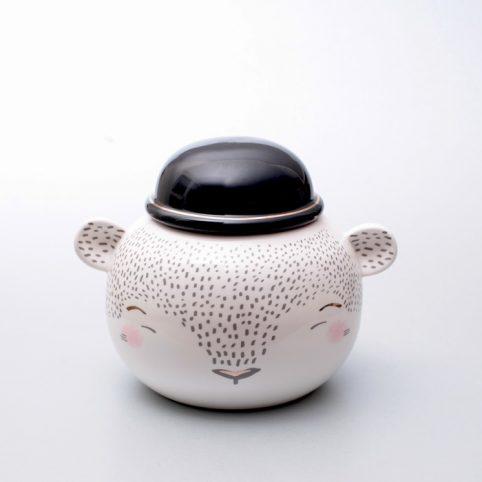 Cute Ceramic Jar Over The Moon