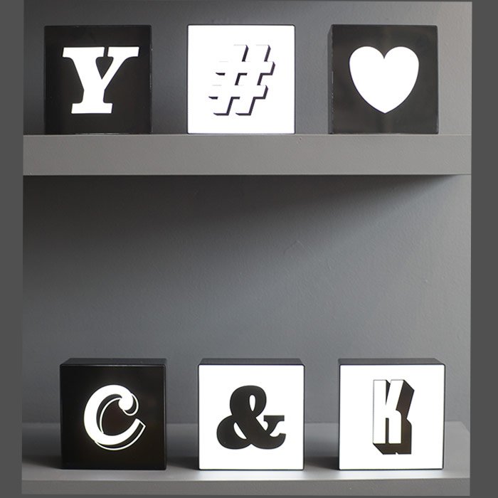 Alphabet-lightbox