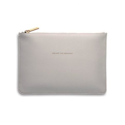 Grey Clutch Bag From Estella Bartlett Escape The Ordianry