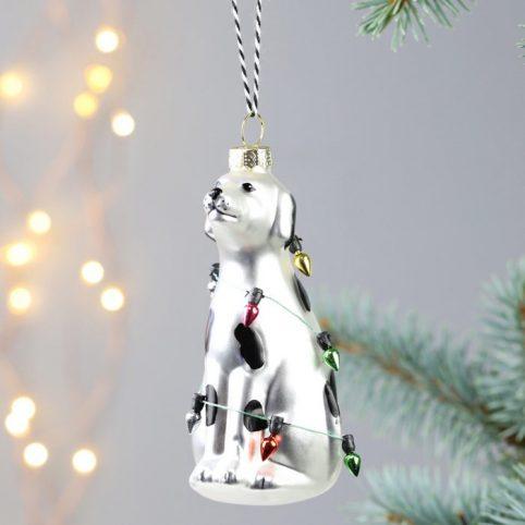 Dalmatian Christmas Bauble - Buy Online UK