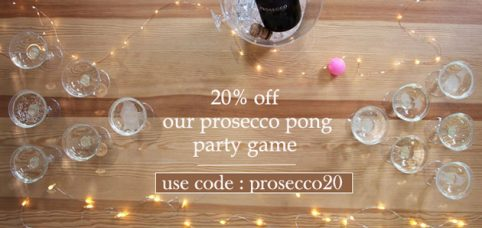 prosecco pong slider