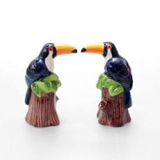 Klevering Toucan Salt and Pepper Shakers