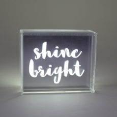 Decorative Small Light Box - Buy Online UK