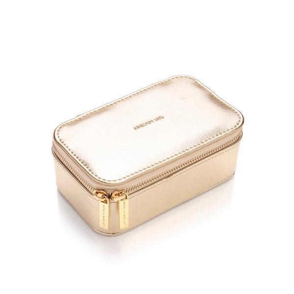Gold Travel Jewellery Case Estella Bartlett