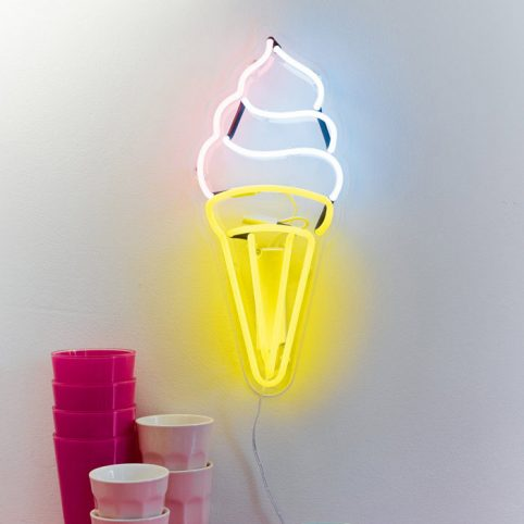 Ice Cream Wall Neon Light - Buy Online Free P&P
