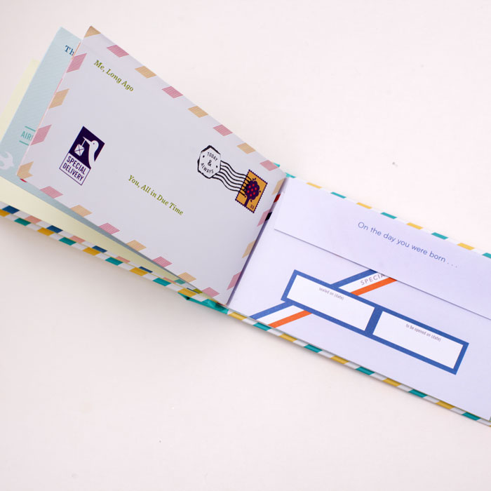 Letters to my baby gift