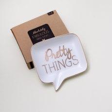 Pretty Things Trinket Dish - Buy Online UK