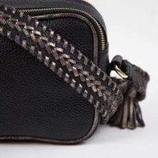 Leather Cross Body Bag Black £79.50