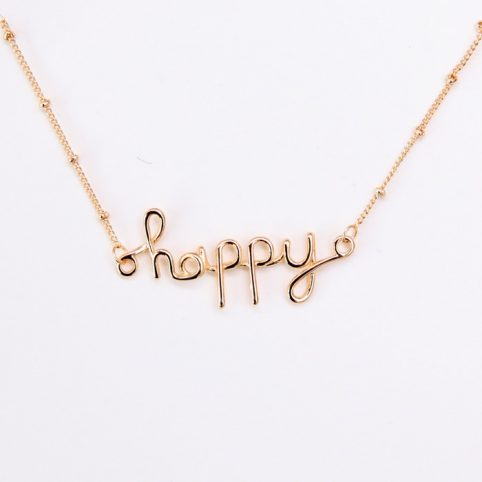 Happy Necklace - £12.50 Buy Online UK
