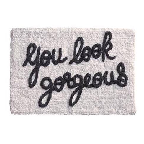 You Look Gorgeous Bath Mat - Buy Online UK