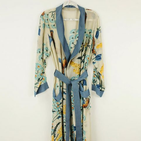 One Hundred Stars Floral Dressing Gown - Free UK Delivery