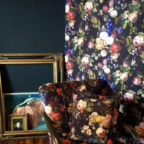 Floral Wallpaper Beatrix From Sooshichacha - Free UK Delivery