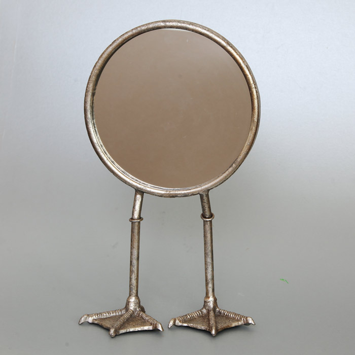 Duck Feet Round Mirror