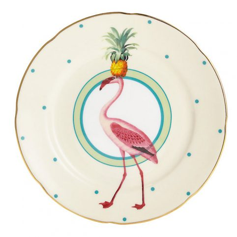 Yvonne Ellen Flamingo Cake Plate - Buy Online UK