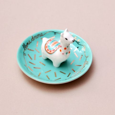 Llama Trinket Dish - Buy Online UK