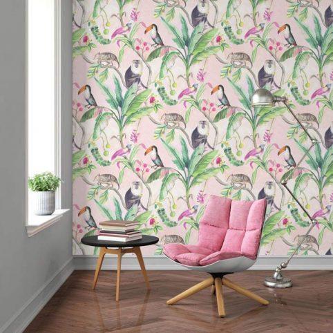 Toucan Wallpaper - Tropical Wallpapers Buy Online UK