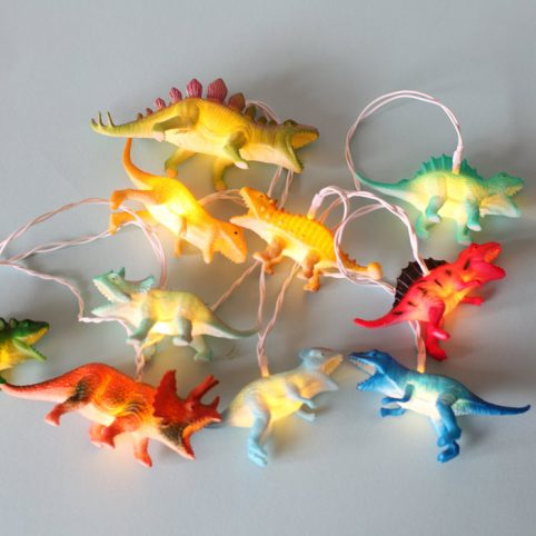 Dinosaur String Lights - Free UK Delivery