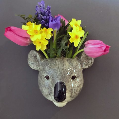 Koala Wall Vase - £29.50 Free UK Delivery