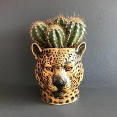 Ceramic Leopard Pen Pot - £17.50 Buy Online UK