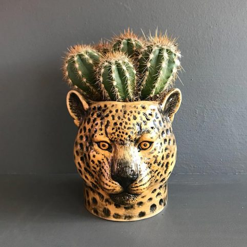 Ceramic Leopard Pen Pot - £17.50 Buy Online UK