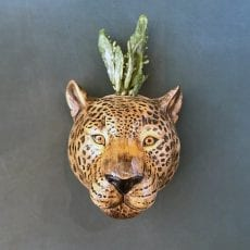 Leopard Wall Vase - Buy Online UK