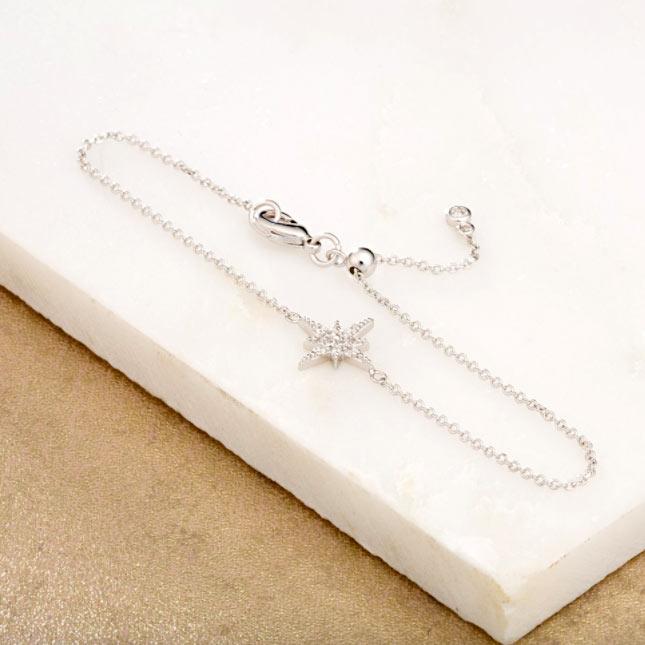 Silver Star Bracelet From Scream Pretty